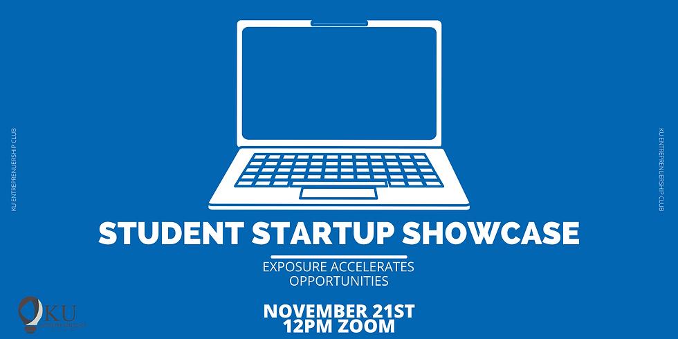 Student Startup Showcase