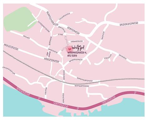 that baking gir locaton map