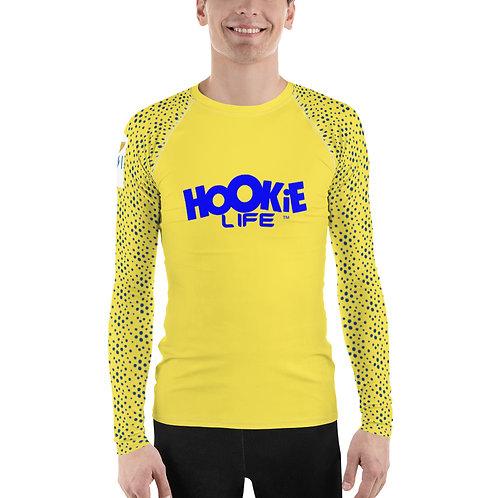 Hookie Boyz USVI Rash Guard Blue-Yellow