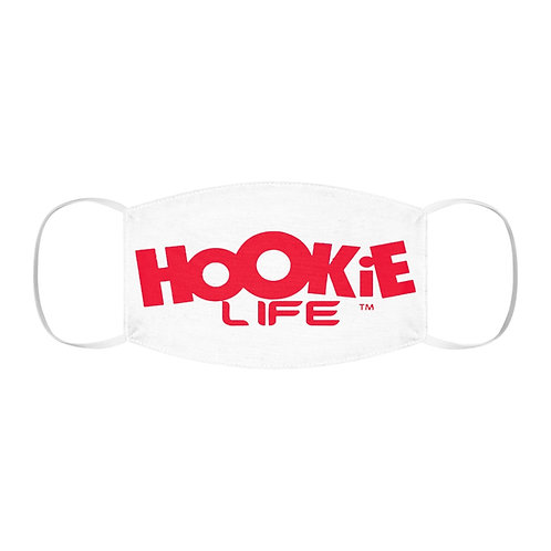 """Hookielife """"Fight the Rona"""" Mask in Red"""