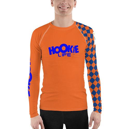 Hookie Boyz VI Rash Guard Orange-Blue