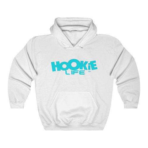 "Hookielife ""OG"" Hoodie w. Light Blue Logo"