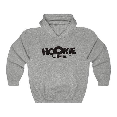 """Hookielife """"OG"""" Hoodie w. Basic Black Logo"""