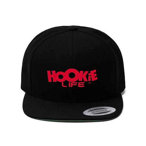 "HookieLife Original ""G"" Snapback w. Red Logo"