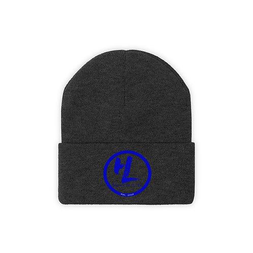 HL by HookieLife Knit Beanie (Royal Blue Emblem)