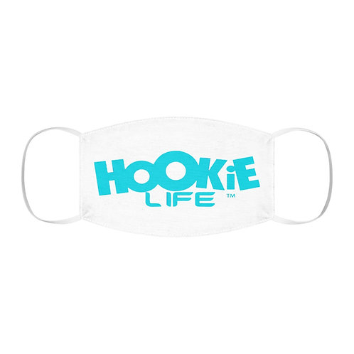 "Hookielife ""Fight the Rona"" Mask in Light Blue"