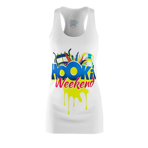 Hookie Weekend Women's Racerback Coverup Dress