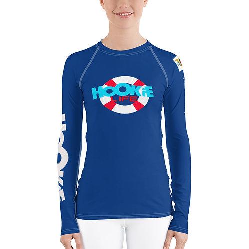 Women's Hookie Gear Rash Guard Blue