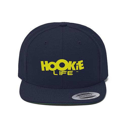 "HookieLife Original ""G"" Snapback w. Yellow Logo"
