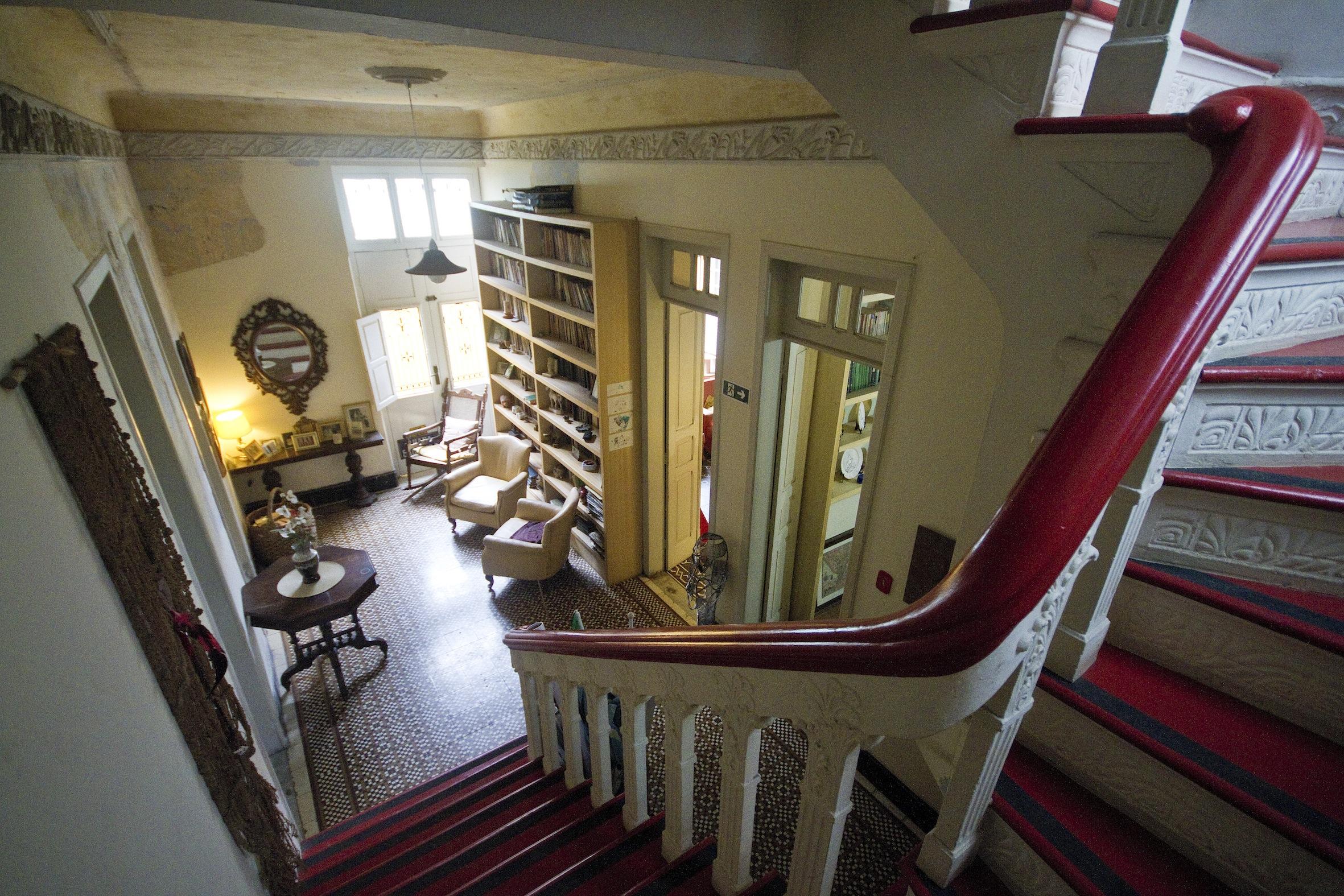 escada e hall