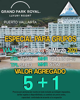 Grand Park Royal Vallarta Grupos