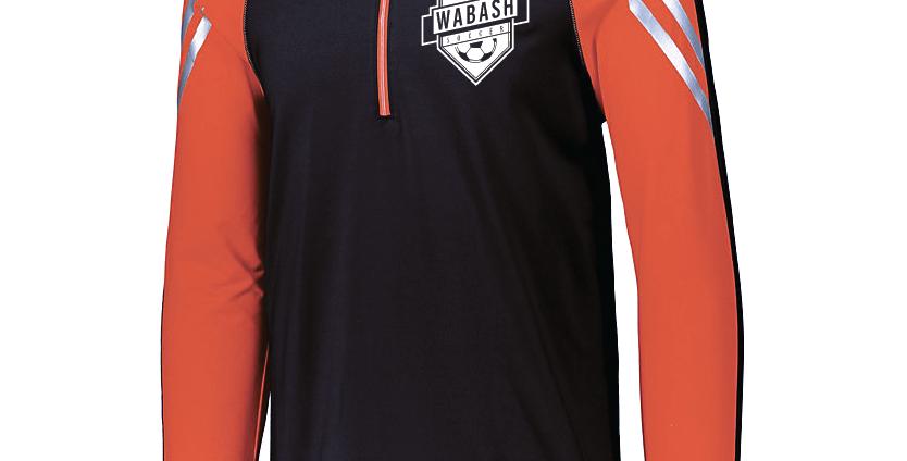 Wabash Soccer Flux 1/2 Zip Pullover