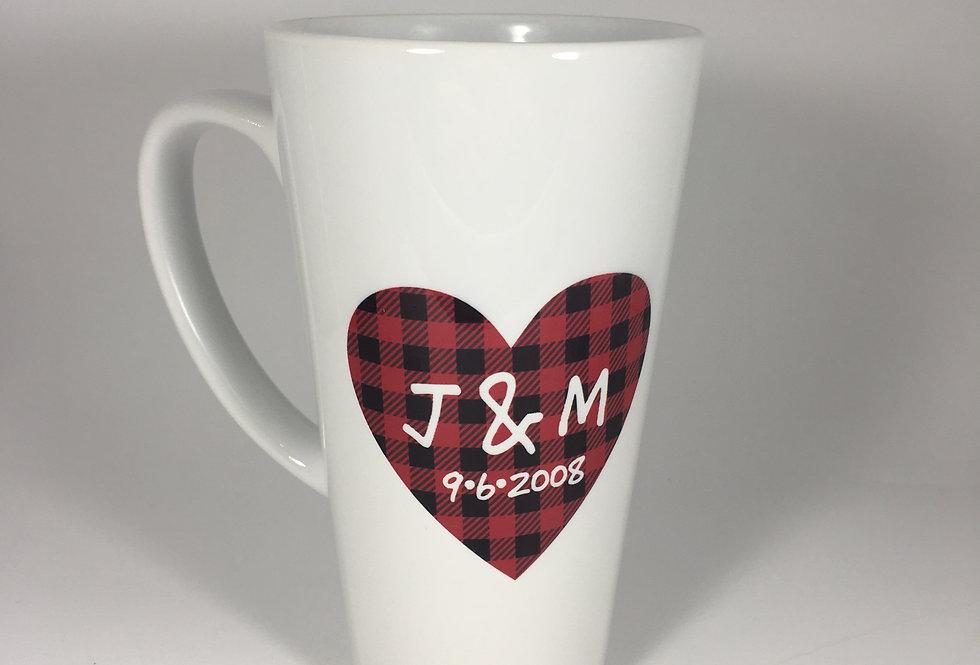 Valentine's Latte Mug