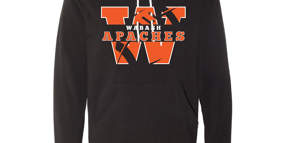Official Wabash Football Bella+Canvas Hoodie