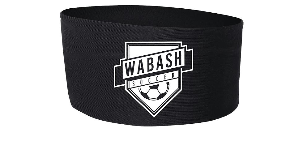 Wabash Soccer Wide Headband