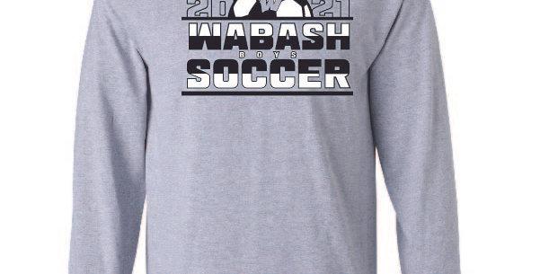 Boys Soccer Long Sleeve Tee