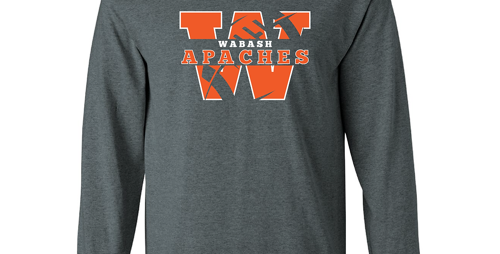 Official Wabash Football Long Sleeve