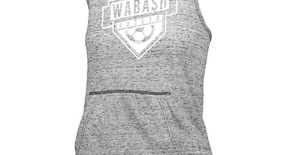Wabash Soccer Hooded Tank