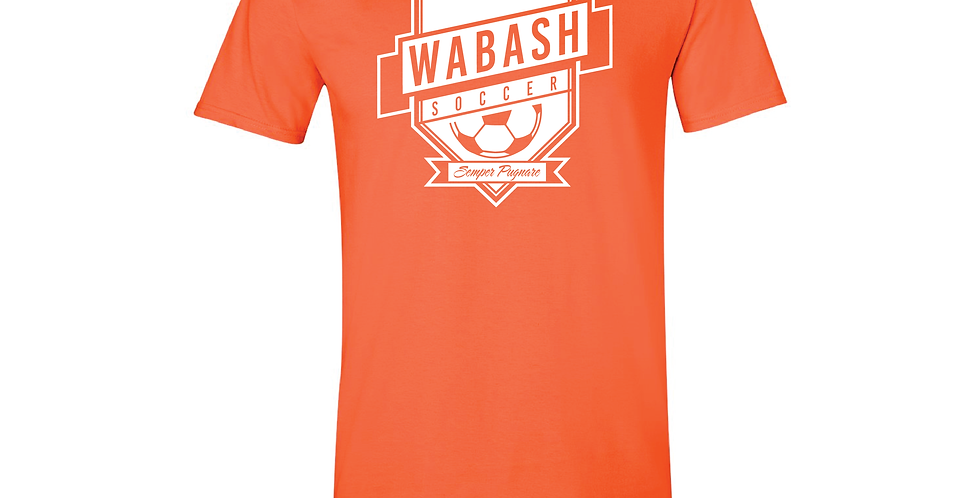 Wabash Mens Soccer Soft Style Tee