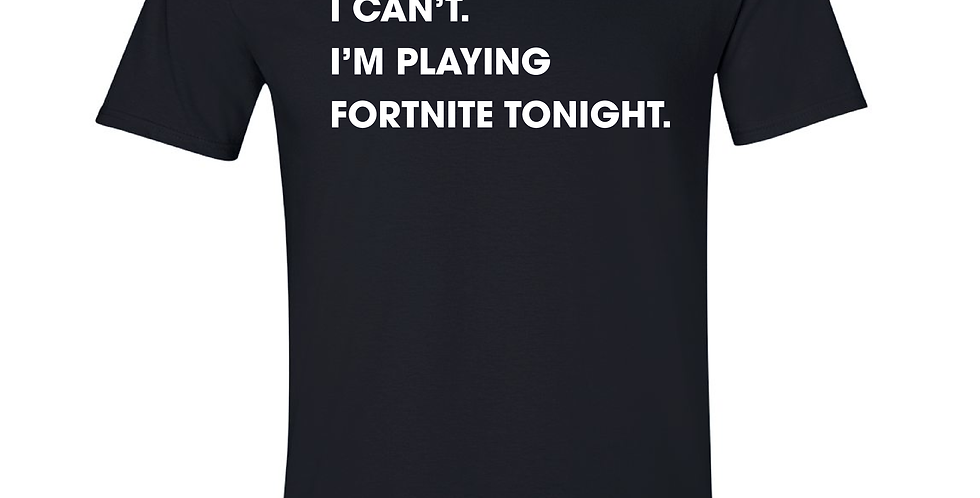Fortnite Tonight Tee