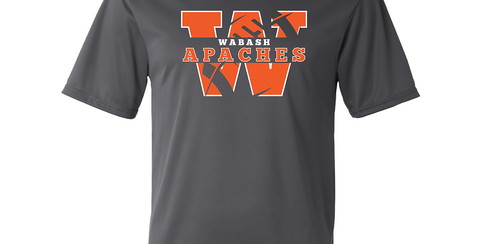 Official Wabash Football Poly Tee