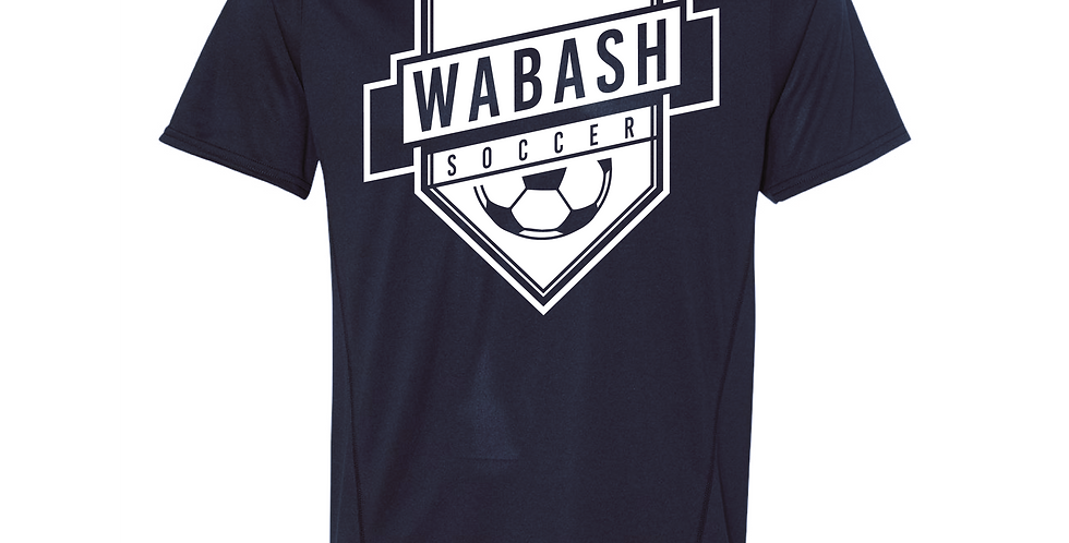 Wabash Soccer Poly Tee