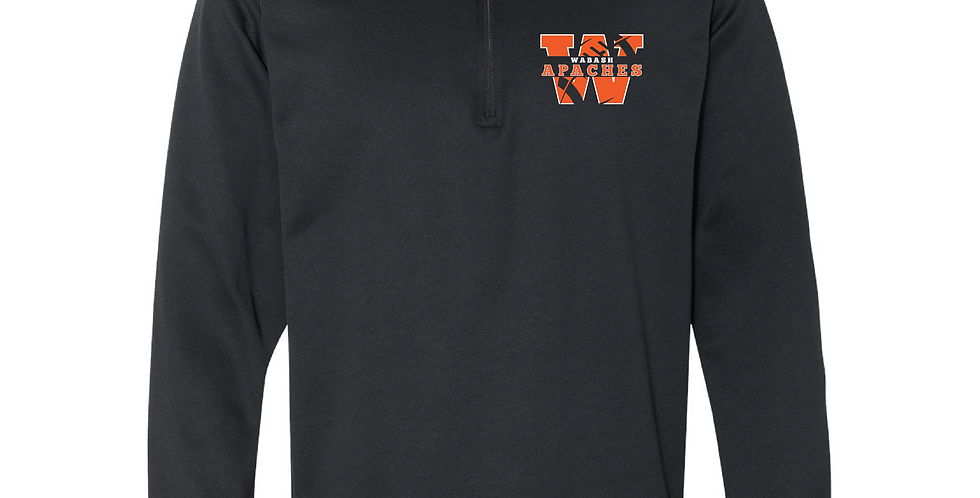 Official Wabash Football Gildan Quarter Zip