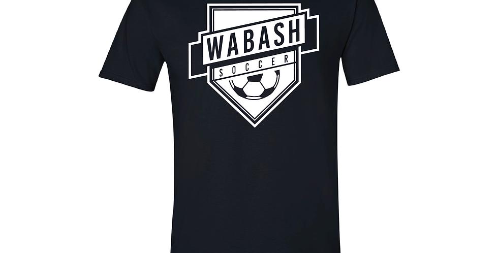 Wabash Soccer Soft Style Tee