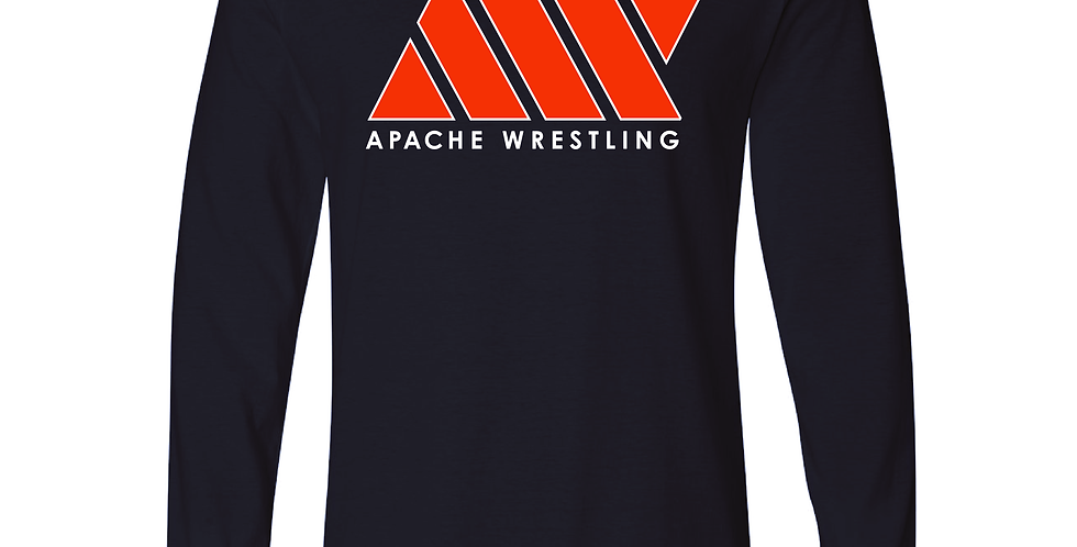 Long Sleeve Wrestling Tee