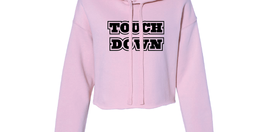 Women's Cropped Football Fleece