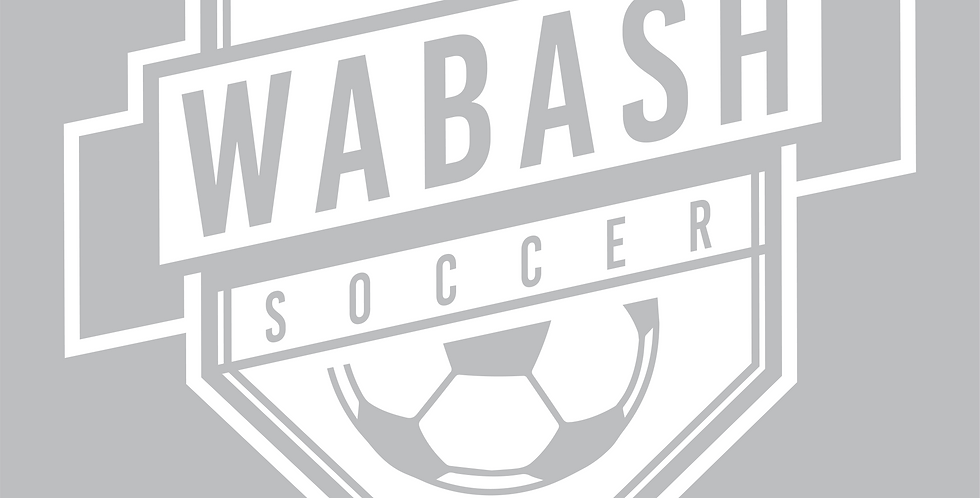 "6"" Wabash Soccer Car Decal"