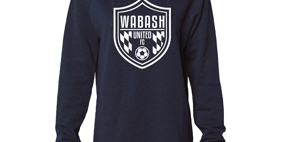 Wabash United - Ladie's Hoodie