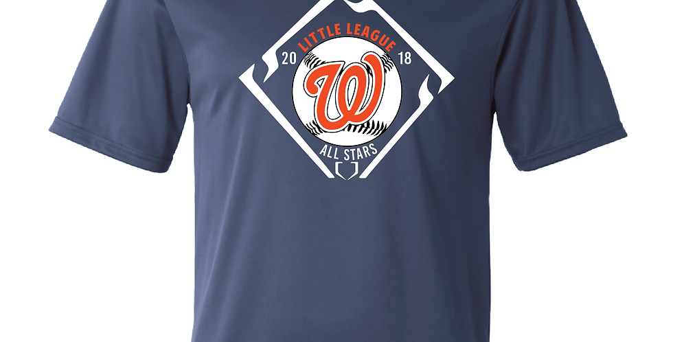 Little League All Star Tee (Custom Back)