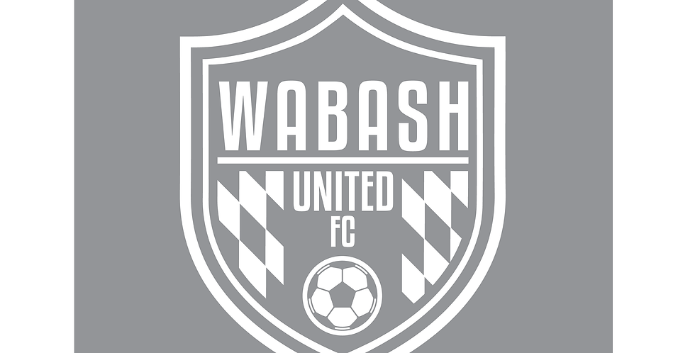 "6"" Wabash United FC Car Decal"