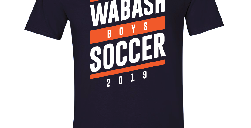 Official Wabash Soccer Tee 2019