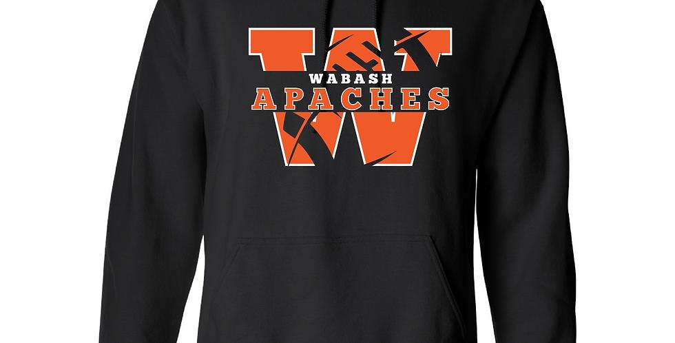 Official Wabash Football Gildan Hoodie