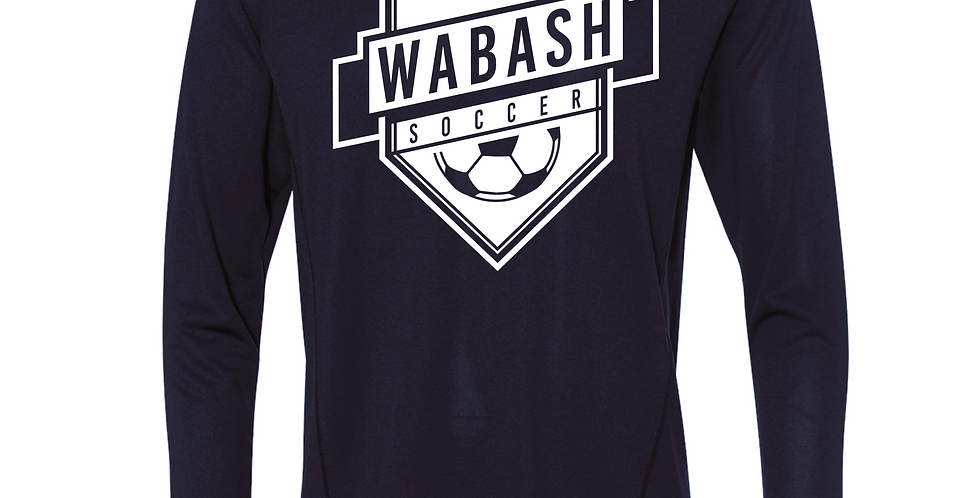 Wabash Soccer LS Poly Tee