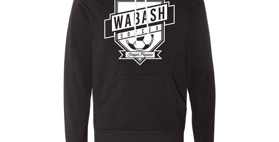 Wabash Mens Soccer Soft Hoodie
