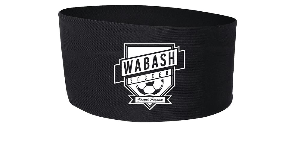 Wabash Mens Soccer Wide Headband