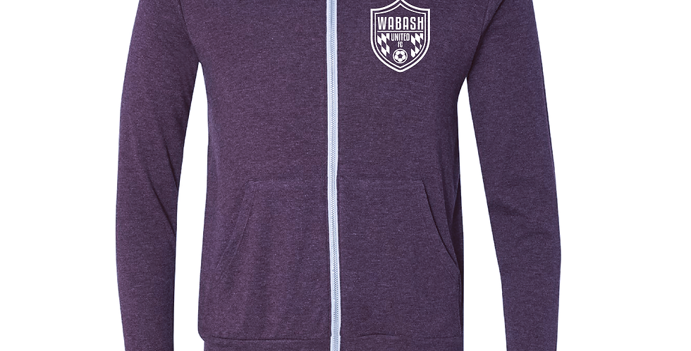 Wabash United Soccer Full Zip