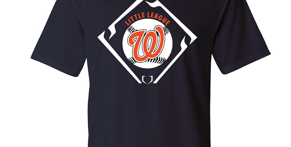 Youth Little League Logo Tee