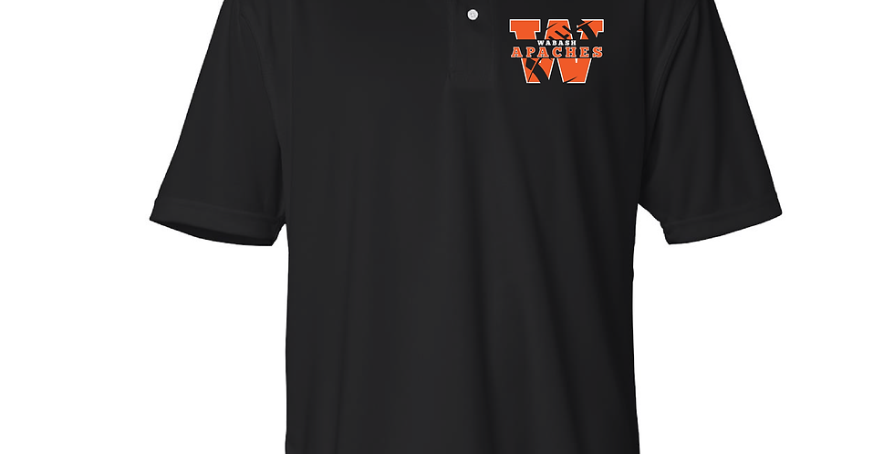 Official Wabash Football Featherlite Polo