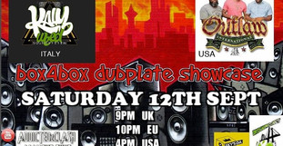 BOX4BOX DUBPLATE SHOWCASE im Bubble Video Stream 12.09.20