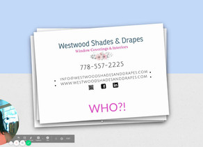 Who are Westwood Shades and Drapes anyway?!