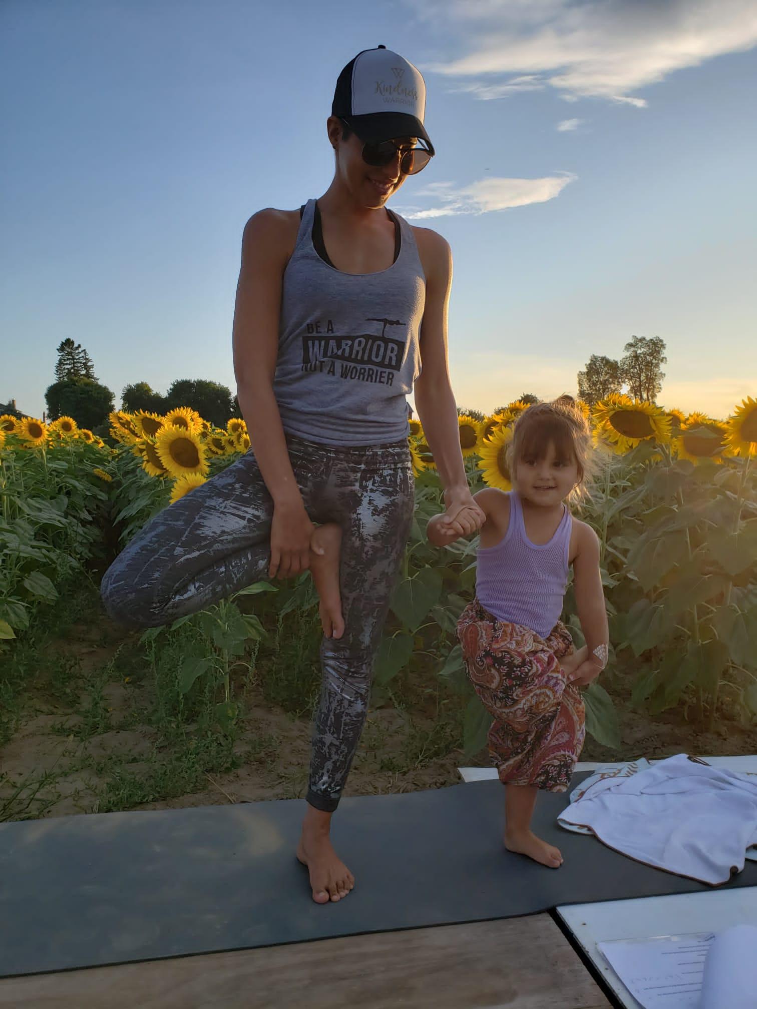 Mom & Daughter Yoga