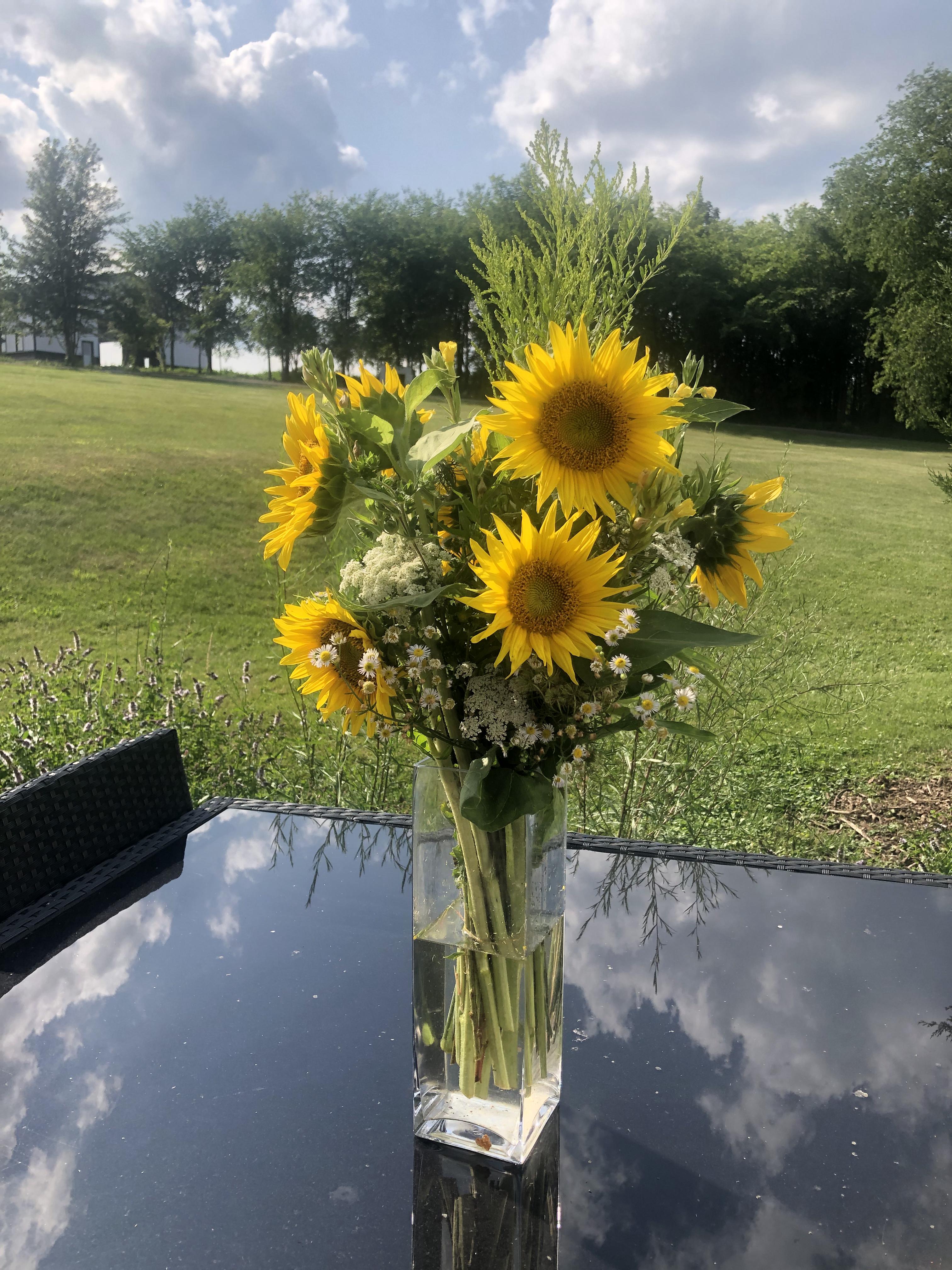 Sunflower & Wildflower Weekly Bouquets