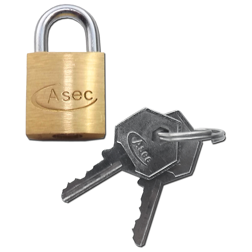 Asec Keyed Alike Open Shackle 20mm Padlock
