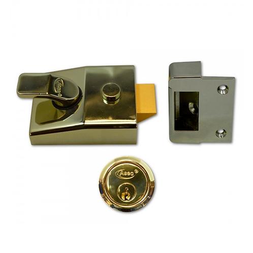 Asec Deadlocking Nightlatch 60mm