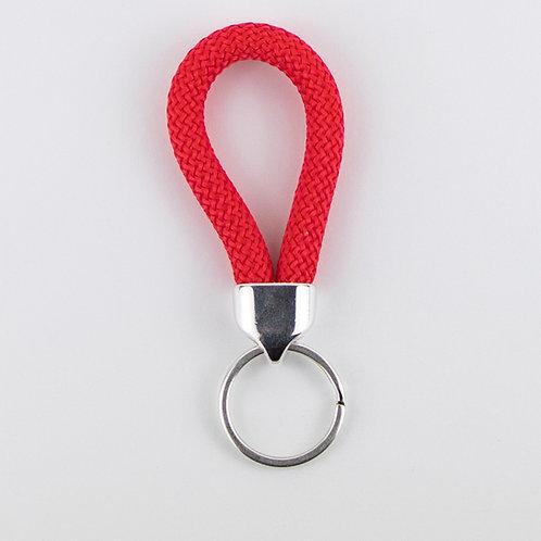 מחזיק מפתחות חבל טיפוס אדום