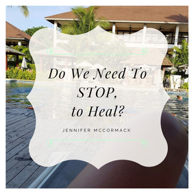 Do we need to stop to Heal?
